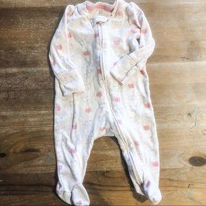 Baby Gap Footed Onesie Size 0-3 Months